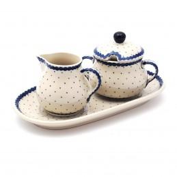 Sugar bowl and creamer set