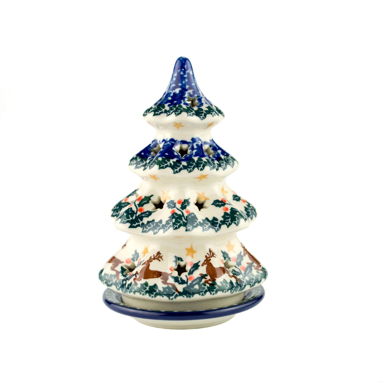 Polish Pottery Shop Christmas Tree
