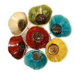 Ceramic Poppy
