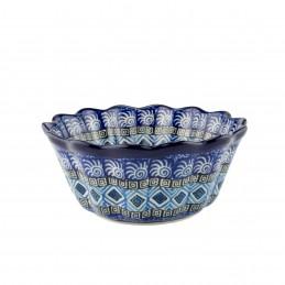Frilled bowl