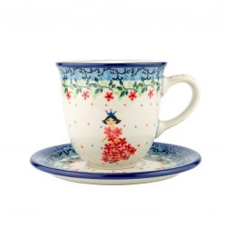 Cup and saucer 0.3L
