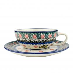 Cup and saucer 0.25l