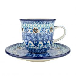 Cup and saucer 0.18l