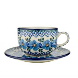 Cup and saucer 0.2L