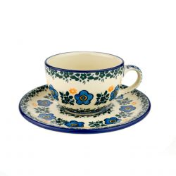 Cup and saucer 0.1l