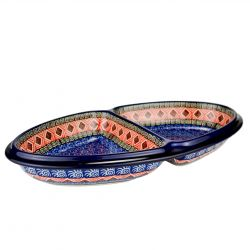 Divided serving dish