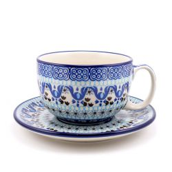 Cup and saucer 0.35l