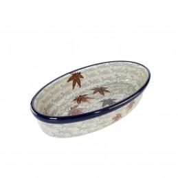 Oval dish 21.5/11cm