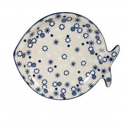 Fish platter 24.5/21cm