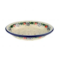 Soap dish with holes