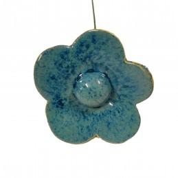 Medium flower - dark blue
