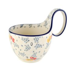 Bowl with loop handle