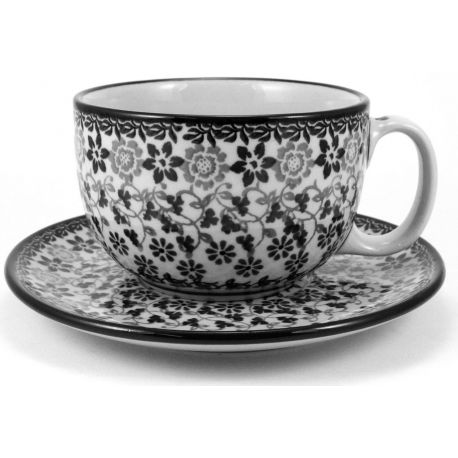 Cup & saucer 0.35L